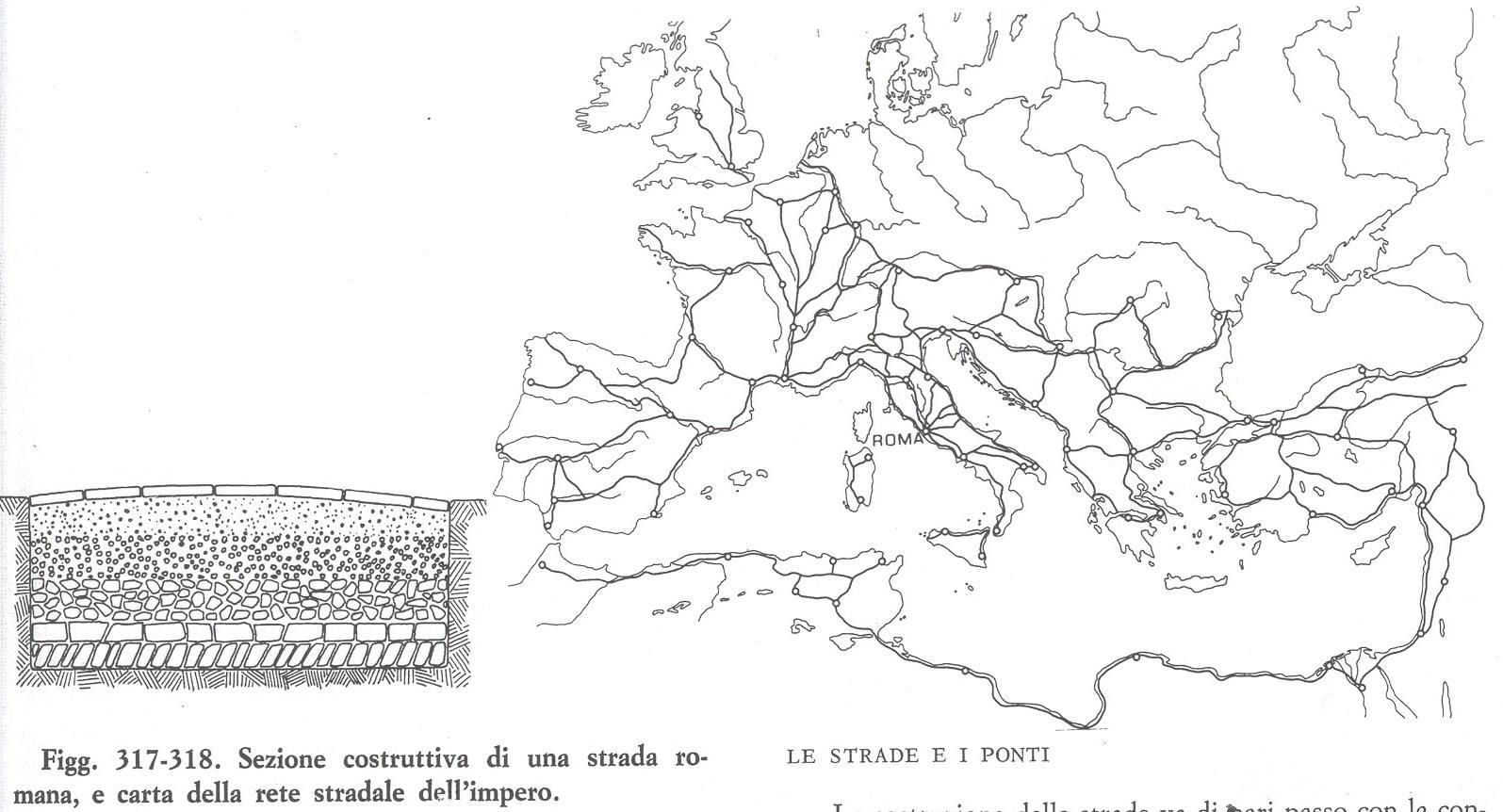 rete stradale impero romano